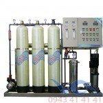 Hệ thống dây chuyền lọc nước RO Composite 1200 lít/h - Van cơ