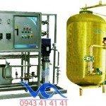 Hệ thống dây chuyền lọc nước RO Composite 5000 lít/h - Van cơ