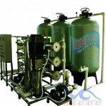 Hệ thống dây chuyền lọc nước RO Composite 15000 lít/h - Van cơ