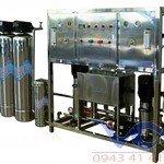 Hệ thống dây chuyền lọc nước RO Inox 400 lít/h - autovan
