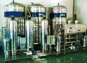 Hệ thống dây chuyền lọc nước RO Inox 1200 lít/h - Van cơ