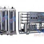 Hệ thống dây chuyền lọc nước RO Inox 1800 lít/h - Van cơ