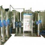 Hệ thống dây chuyền lọc nước RO Inox 4500 lít/h - Van cơ