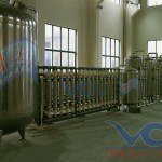 Hệ thống dây chuyền lọc nước RO Inox 20000 lít/h - Van cơ