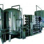 Hệ thống dây chuyền lọc nước RO Inox 25000 lít/h - Van cơ