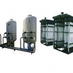 Hệ thống dây chuyền lọc nước RO Inox 30000 lít/h - Van cơ