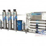 Hệ thống dây chuyền lọc nước RO Inox 2000 lít/h - autovan