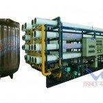 Hệ thống dây chuyền lọc nước RO Inox 20000 lít/h - autovan