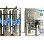 Hệ thống dây chuyền lọc nước RO Inox 3000 lít/h - Van cơ