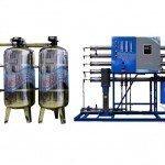 Hệ thống dây chuyền lọc nước RO Inox 5000 lít/h - Van cơ