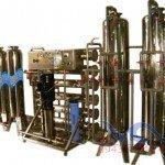 Hệ thống dây chuyền lọc nước RO Inox 6000 lít/h - Van cơ