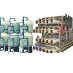 Hệ thống dây chuyền lọc nước RO Composite 90000 lít/h - Van cơ