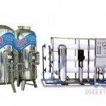 Hệ thống dây chuyền lọc nước RO Inox 3000 lít/h - autovan