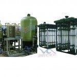 Hệ thống dây chuyền lọc nước RO Composite 30000 lít/h - Van cơ