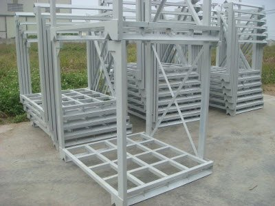 Cage Iron material pallet
