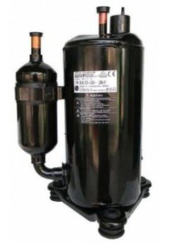 Block air conditioning compressor