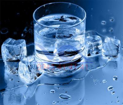 Handle the quality of water for ice machines