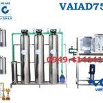 Dây chuyền lọc nước điện giải 750l
