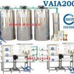 Dây chuyền sản xuất nước tinh khiết 20000l