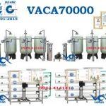 hệ thống lọc nước 70000l