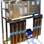 Hệ thống dây chuyền lọc nước Inox 300 lít/h – Van cơ