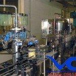 Máy chiết chai 500ml công suất 1500 chai/h