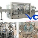 Máy chiết chai 500ml công suất 3000 chai/h