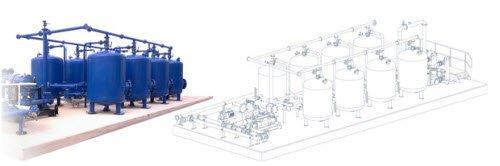 Filter system model 80/hour