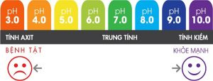 Thang đo độ pH và sức khỏe