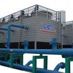Tháp tản nhiệt cho máy làm đá viên USApec VA100T
